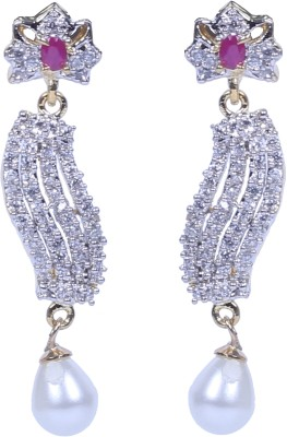 Handluv Sparky Cubic Zirconia Alloy Drop Earring