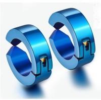 Vaishnavi First Quality Korean Made Unisex Long Lasting Non-Allergic For Non-Pierced Ear 316l Stainless Steel Hoop Earring