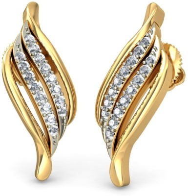 Joyra Glamorous Swarovski Zirconia Sterling Silver Drop Earring