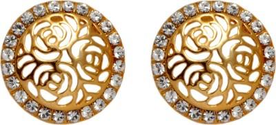 Royal Golden Classy Alloy Stud Earring