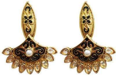 Aarnaa La Trendz Ethnic Alloy Drop Earring