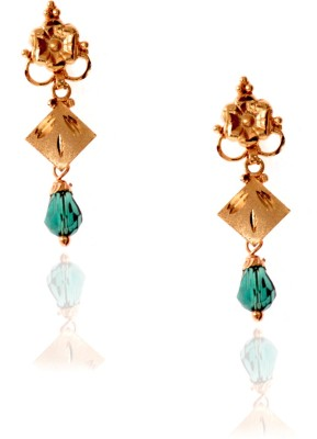 Spaamty Center square Alloy Drop Earring