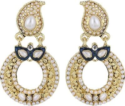 Aadyaa Collections Ethnic Charm Alloy Chandbali Earring