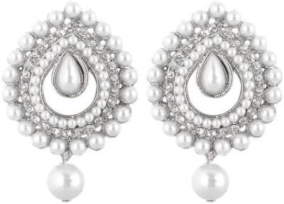 Jewels Guru Diva Style Zircon Alloy Chandelier Earring