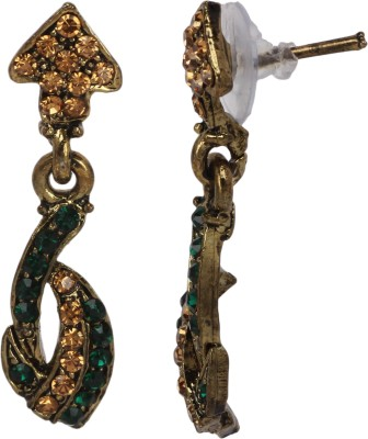 Maisha Maisha's Beautiful Green Drop Earring Alloy Drop Earring