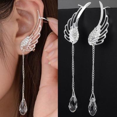 Ruvee Abraxos Fallen Wings Stainless Steel Cuff Earring