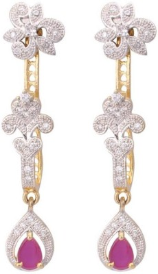 Fashion Frill All New American Diamond Metal Drop Earring