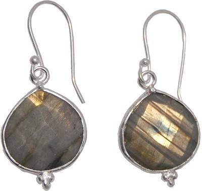 Arvino Heart Of Lebra Brass Drop Earring