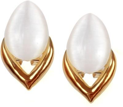 Muchmore Lovely Designer Opal Copper Clip-on Earring