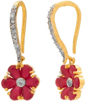 Rajwada Arts Contemporary Design Brass Hoop Earring
