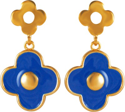 Pling Dafodil Alloy Drop Earring