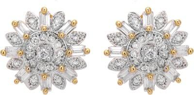 Shanti Jewellery Classic AD Earrings Brass Stud Earring