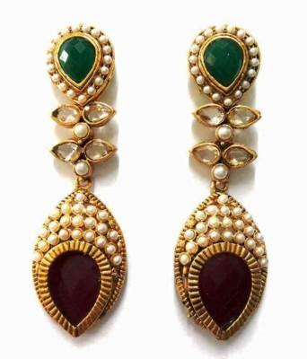 Aarnaa La Trendz Royal Alloy Drop Earring