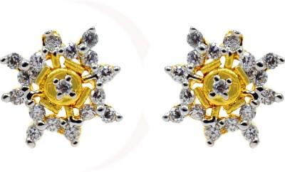 Silvesto India PG-721 Cubic Zirconia Stone Stud Earring