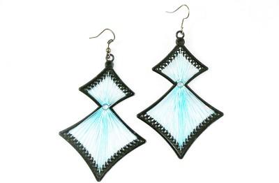 Jiya Fashion Pretties Metal Thread Metal Drop Earring
