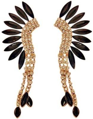 Aaishwarya Tribal look Crystal Alloy Cuff Earring