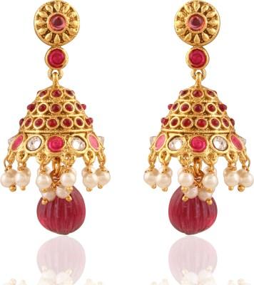 Panini Modern Brass Jhumki Earring