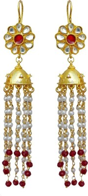 Rajasthani Traditions Ethinic Style Copper Jhumki Earring