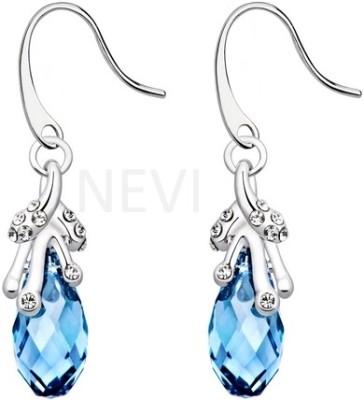 Nevi Ice on Water Swarovski Crystal, Crystal Alloy, Crystal Dangle Earring