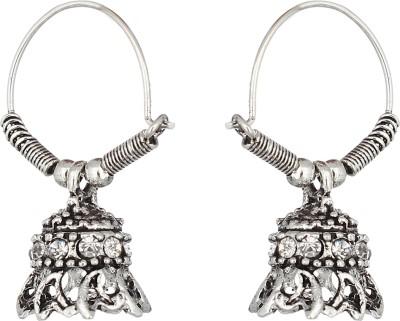 The Gallery Spring Sparkle Zircon Alloy Jhumki Earring