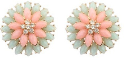 Crunchy Fashion Soft Pops Pastel  Alloy Stud Earring