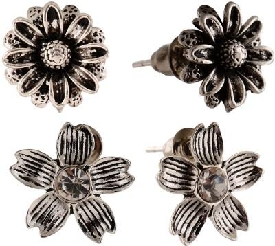 Anokhi Ada Flower Metal Stud Earring