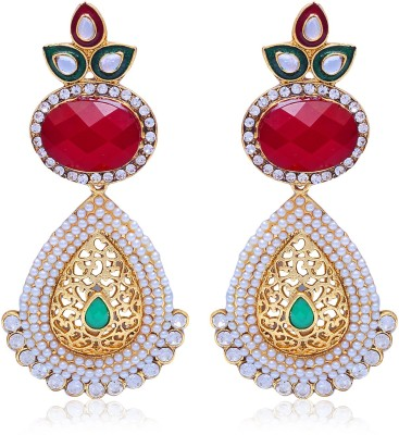Kraft Central Shine and Sparkle Crystal Alloy Drop Earring