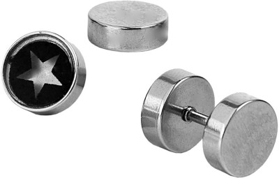 the jewelbox Star Stainless Steel Stud Earring