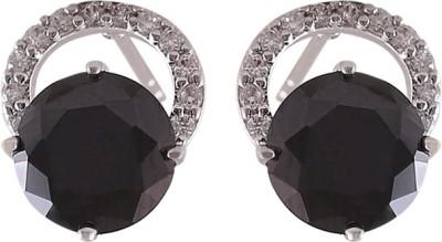 CatchMe Black Moon Bali Alloy Stud Earring