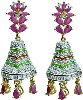 Womanwa Designer Jhumki Metal Jhumki Earring