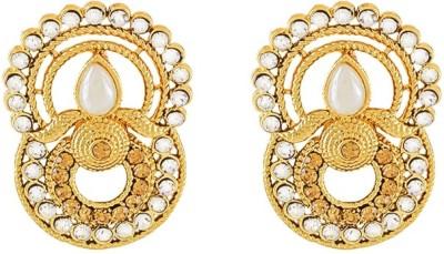 Art Nouveau Fancy New Design Brass Drop Earring