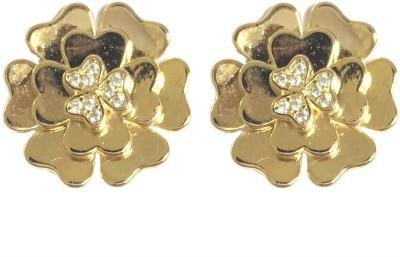 Adrisya Adrisya Gold Hue Alloy Stud Earring