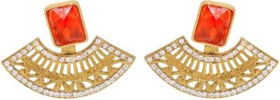 Gehnaz Designer Brass Drop Earring