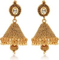 Jewels Galaxy Designer Alloy Jhumki Earring