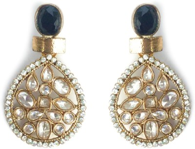 Jhalak Festive Ethnic AD Alloy Drop Earring