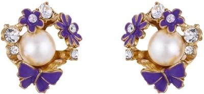 Jewlot Pretty 1042 Metal Stud Earring
