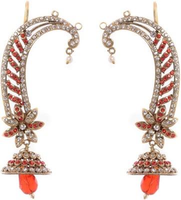 Buyclues SSJ6100 Brass Earring Set