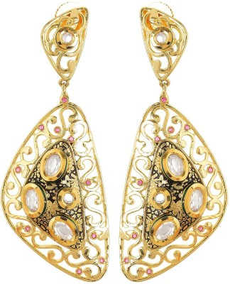 tsb RETAILS Antique Earring Cubic Zirconia Alloy Drop Earring
