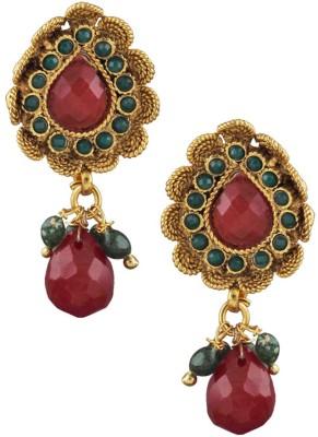 Anuradha Art Traditional Copper Drop Earring