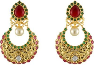 CatchMe Rangrej Alloy Chandbali Earring