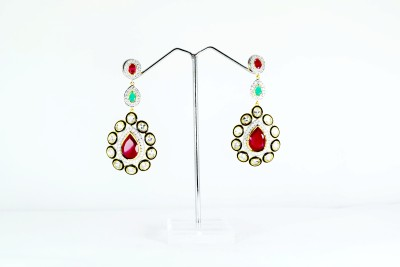 Chouhan Stylish latkan Metal Hoop Earring