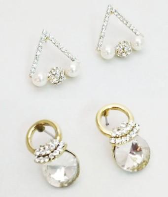 NEHASTORE Combo Offer CB04 Mother of Pearl Alloy Earring Set