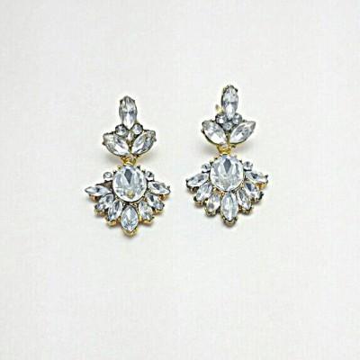 TimesDeals Shine your Ears Crystal Zinc, Alloy Stud Earring