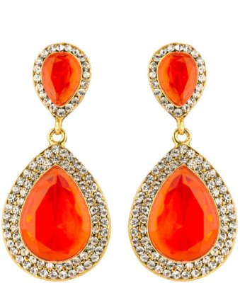 CTW Diva Style Zicron Cocktail Alloy Drop Earring