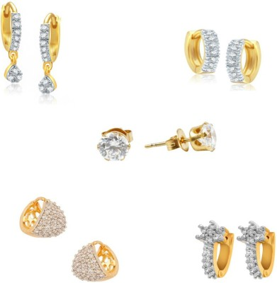 Jewels Galaxy Selected Collection AD JGR553 Alloy Earring Set