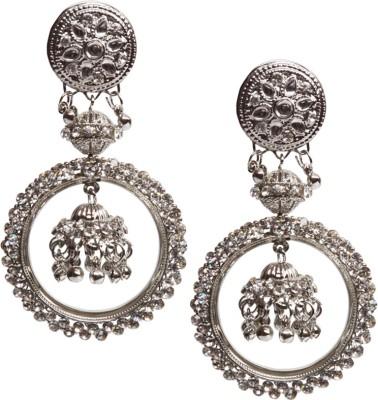 Oars Metal Jhumki Earring