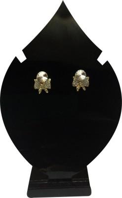 Verceys Fashion Jewellery Alloy, Crystal Stud Earring