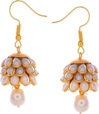 GENUINE MARKETING earr_sat_041 Quartz Brass Dangle Earring