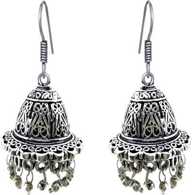 Gurjari oxidize Brass Jhumki Earring