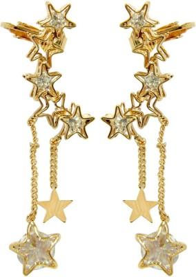 Peora Star Alloy Cuff Earring